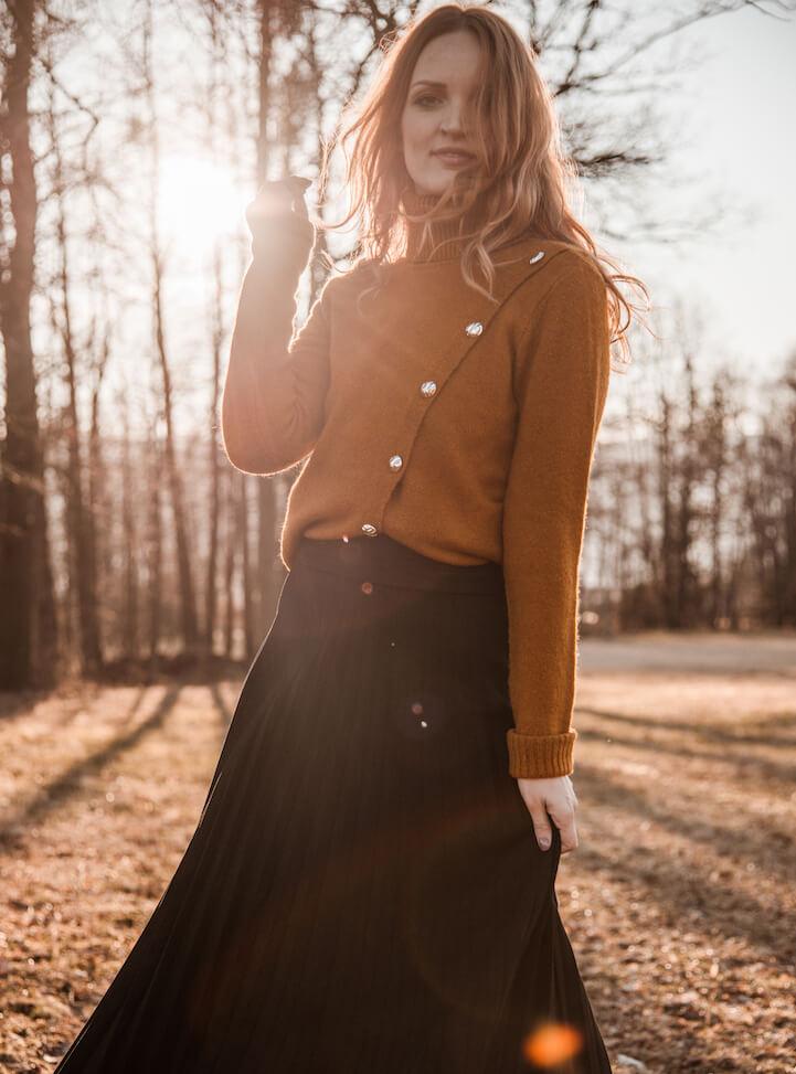 Morgan pulover: redna cena 59 EUR;  50% popust